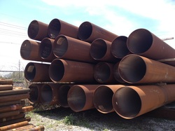 Steel Casing, Piling, Caissons  ​​& Spud